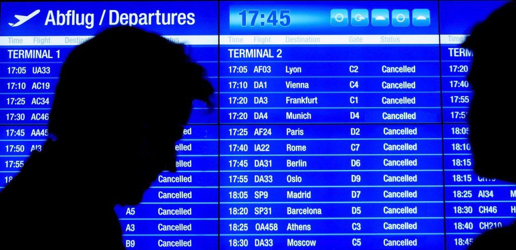 航班取消(圖/pixabay)
