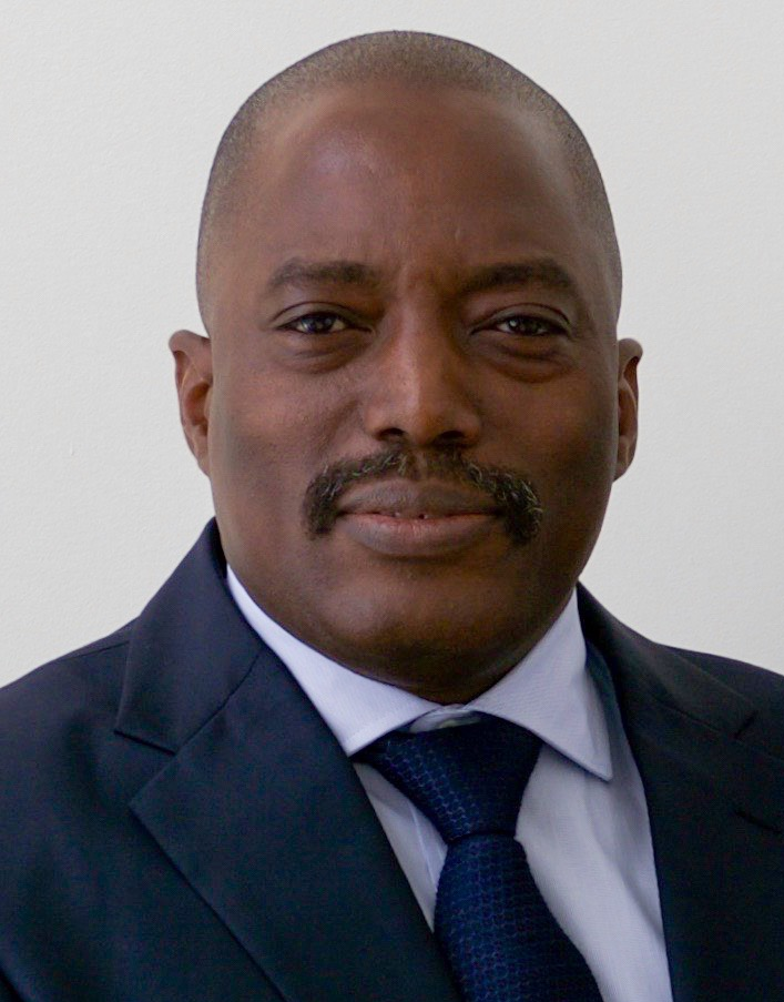 剛果民主共和國前總統卡比拉(Joseph Kabila)(圖/U.S. Department of State/public domain)