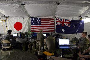 日美澳防長聯合聲明:「嚴正關切」中國海洋擴權(圖/美國印太司令部)
