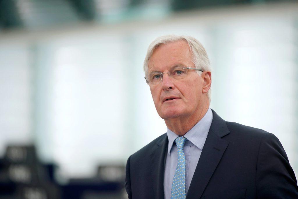 歐盟談判代表巴尼耶(Michel Barnier)(圖/European Parliament/CC BY 2.0)