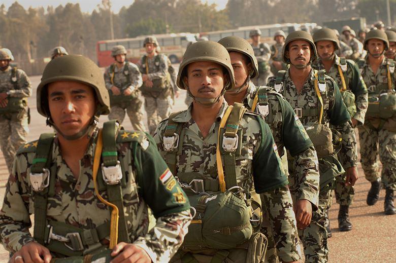 埃及軍隊(圖/美國空軍機動司令部)