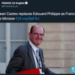 法國總理卡斯克特斯(Jean Castex)(圖/France24推特)