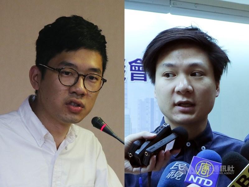 香港警方正式通緝6名流亡海外的港人,包括羅冠聰(左)、陳家駒(右);警方指其涉嫌「煽動分裂國家」。(
