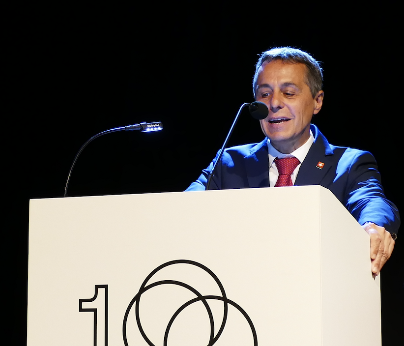 瑞士外長凱西斯(Ignazio Cassis)(圖/Gefyrotes/CC BY-SA 4.0)