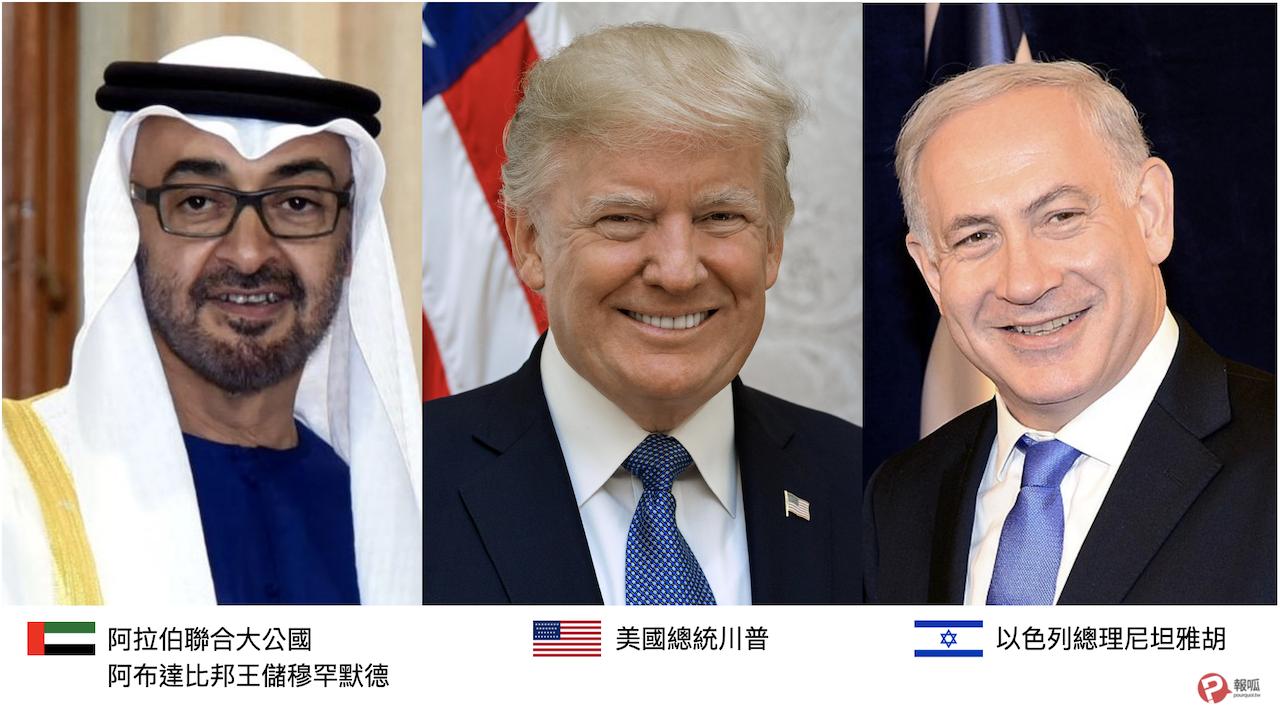 以色列、阿拉伯聯合大公國、美國、和平協議