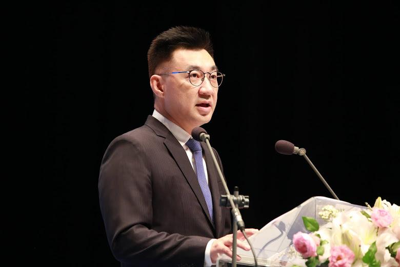 中國國民黨主席江啟臣:基於中華民國憲法的九二共識延續兩岸互動,並尋求互動方式的與時俱進。