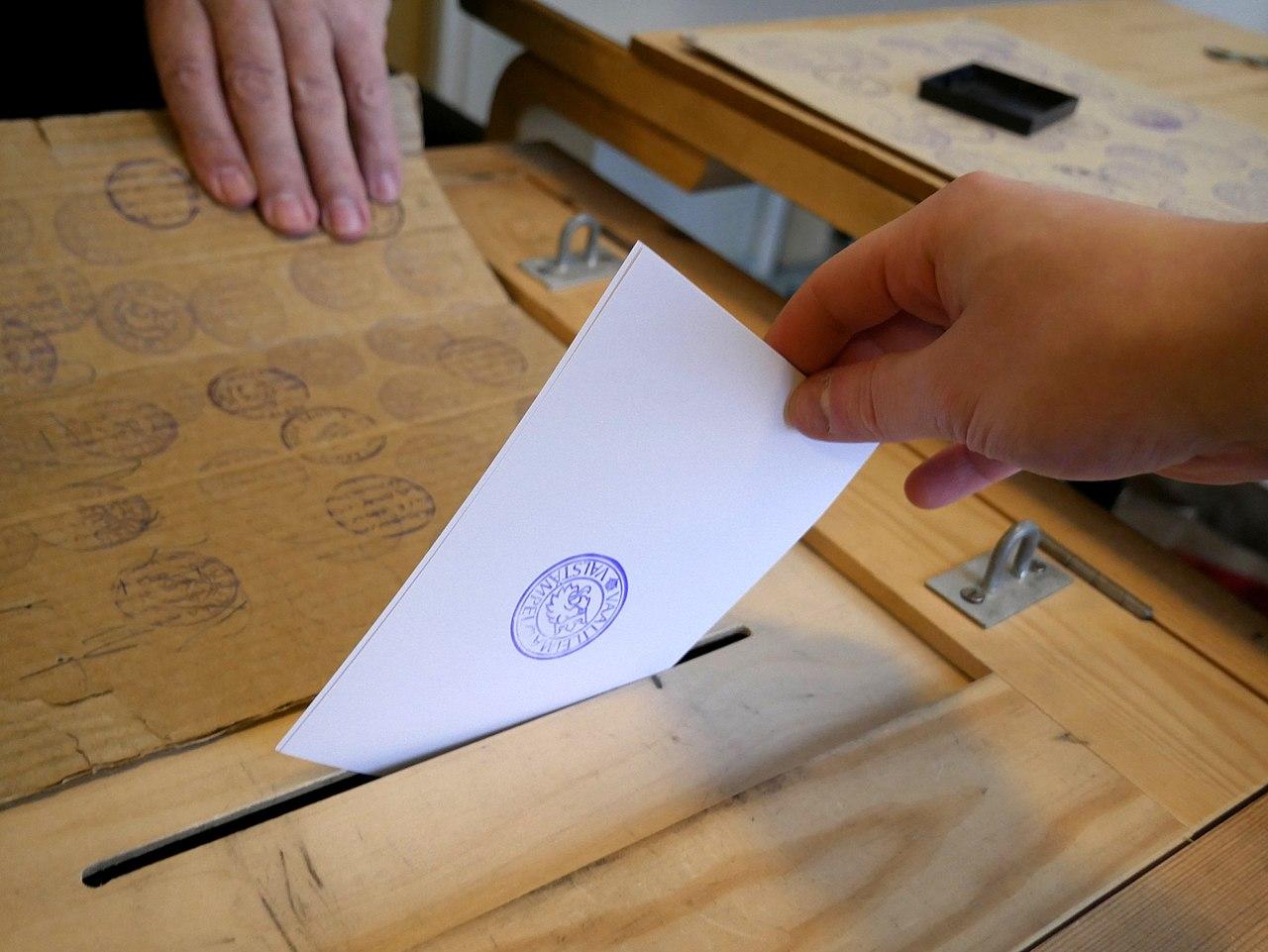 voting election(圖/Santeri Viinamäki/CC BY-SA 4.0)