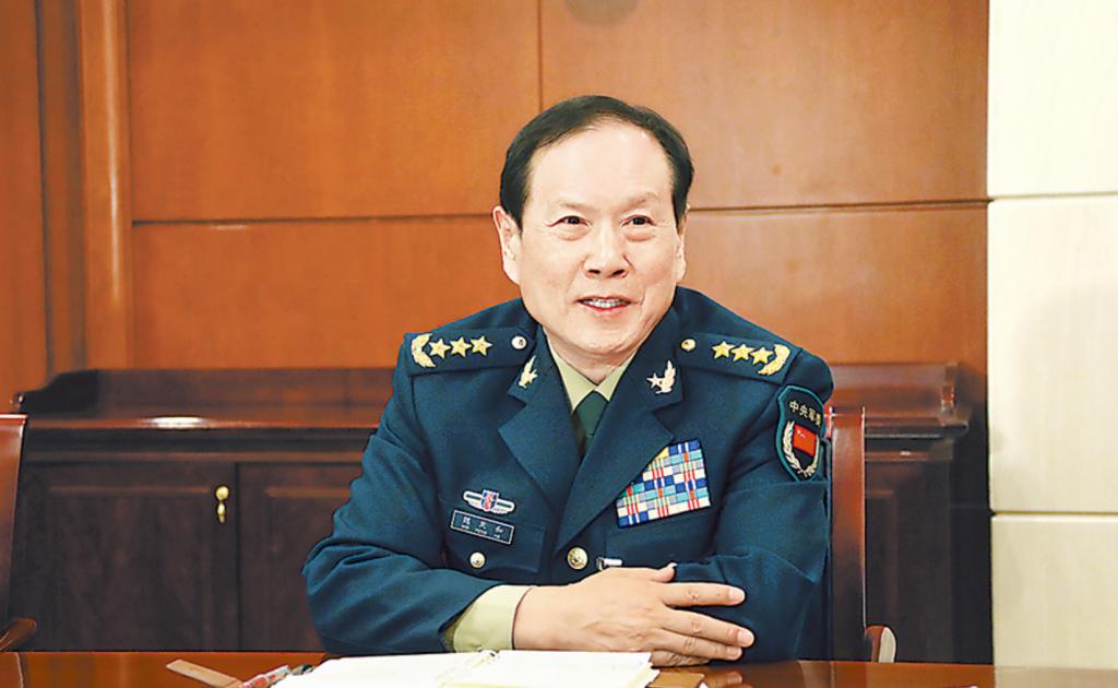 魏鳳和(圖/中國國防部)