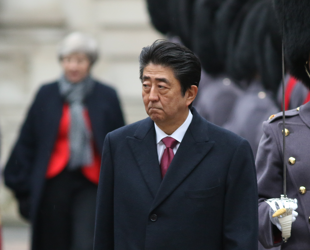 安倍晉三(圖/Foreign and Commonwealth Office/CC BY 2.0)