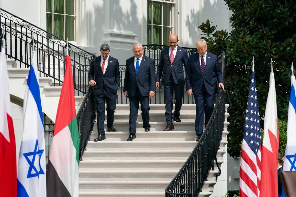 美國、阿拉伯聯合大公國、巴林、以色列(圖/白宮 Flickr)