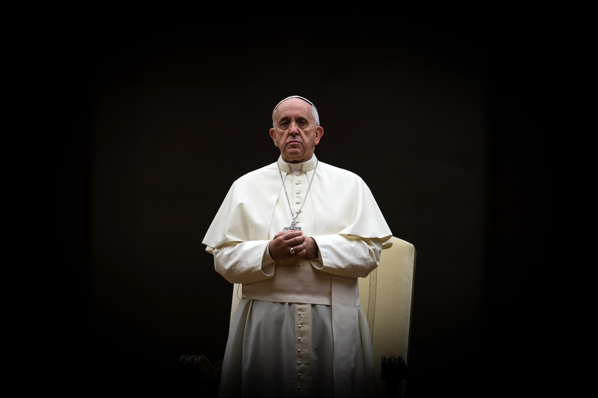 教宗方濟各 Pope Francis (圖/Catholic Church England and Wales/CC BY-NC-SA 2.0)