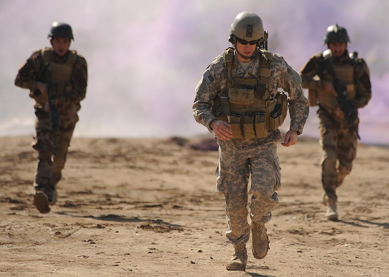 伊拉克美軍 us army iraq(DVIDSHUB/CC BY 2.0)