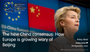 歐洲外交關係協會(圖/歐洲外交關係協會 The new China consensus 報告)