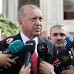 土耳其總統艾爾段受訪。圖/Presidency Of The Republic Of Turkey
