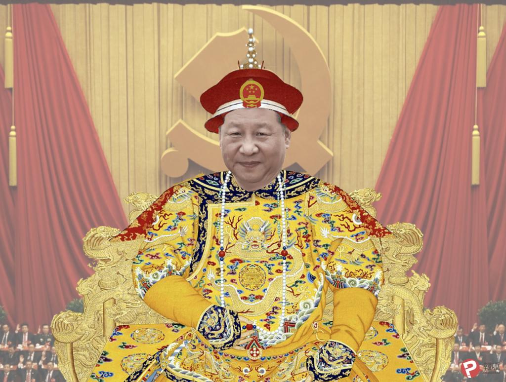 xi emperor 習近平(圖/乾隆皇帝老年肖像・Public Domain/報呱再製)