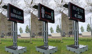 COVID-19-sign Amsterdam 阿姆斯特丹、武漢肺炎(圖/Hay Kranen/CC BY 4.0)