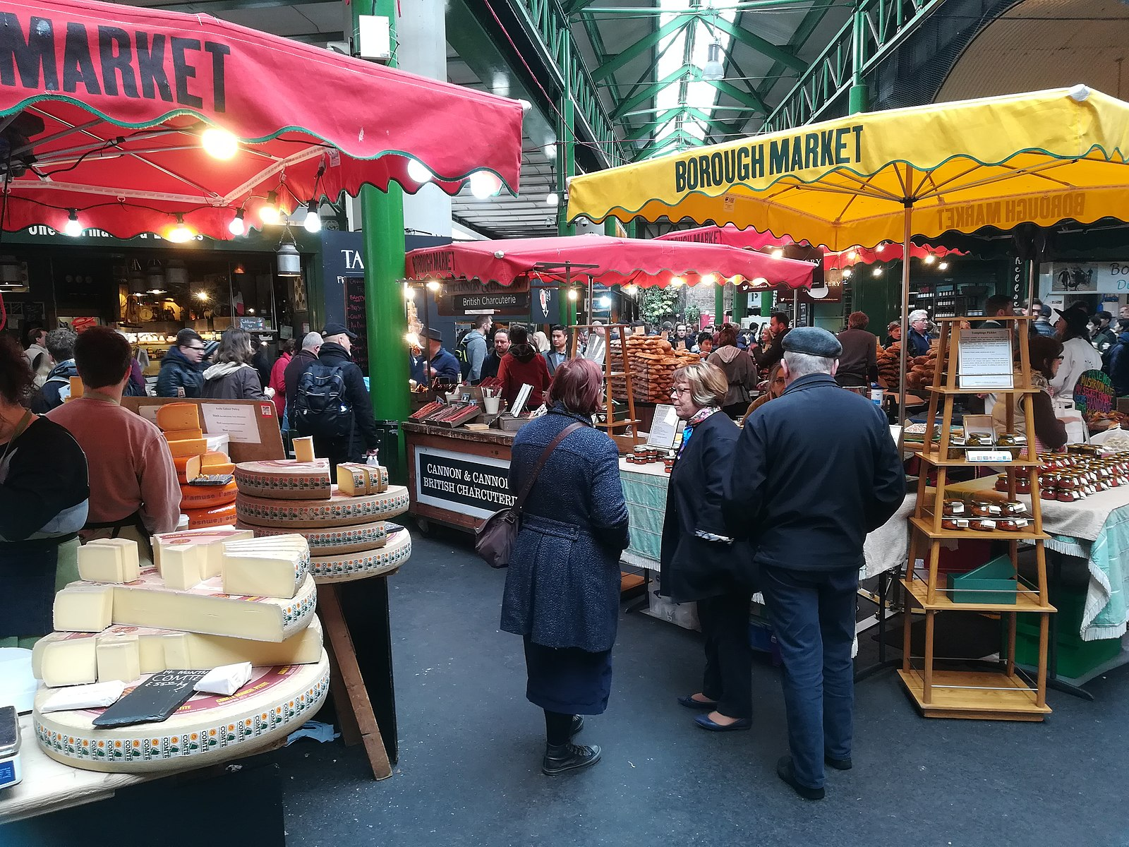 Borough Market(圖/MOs810/CC BY 4.0)