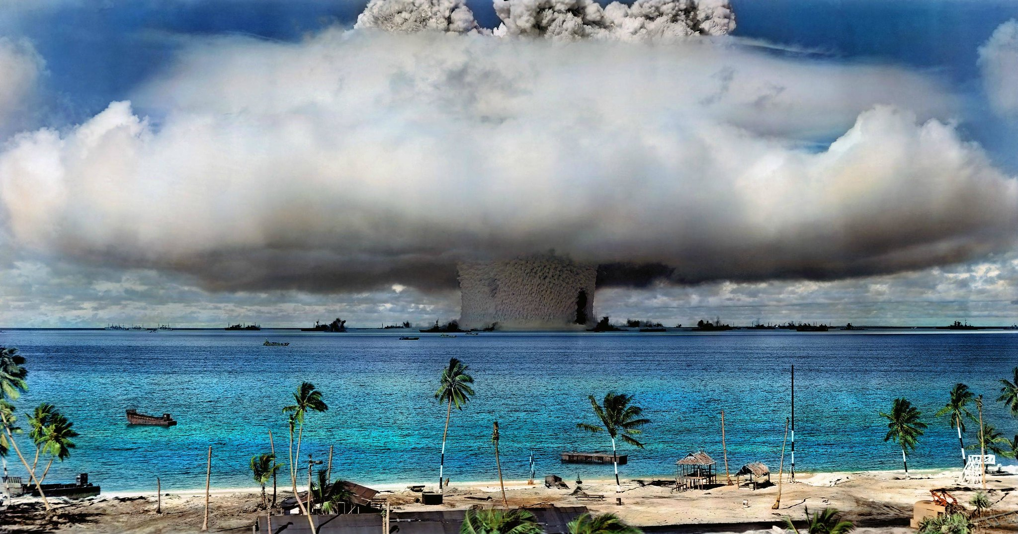 nuclear test 核試爆(圖/International Campaign to Abolish Nuclear Weapons/CC BY-NC 2.0)