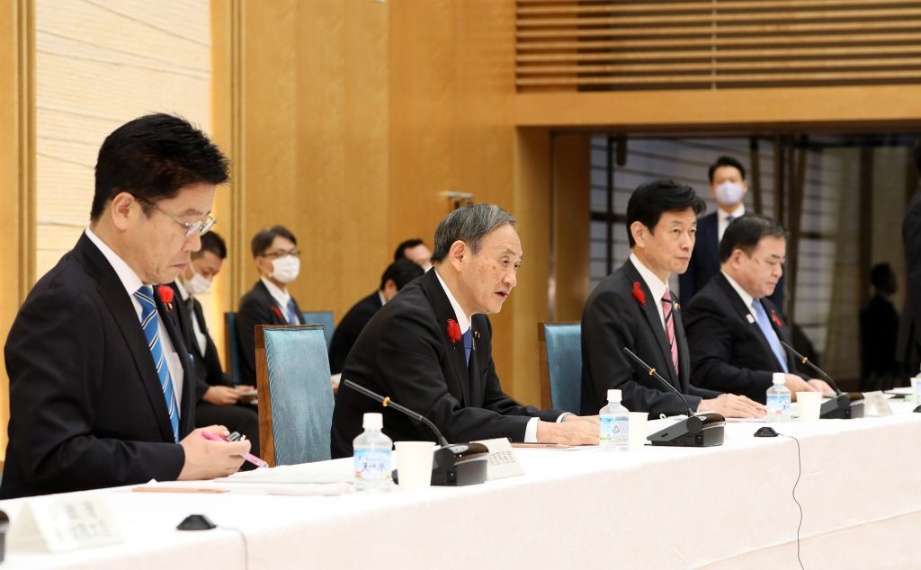 Yoshihide Suga 菅義偉(圖/内閣官房内閣広報室/CC BY 4.0)