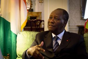 象牙海岸總統瓦塔拉 ouattara-entretien(圖/UN Africa Renewal : John Gillespie)