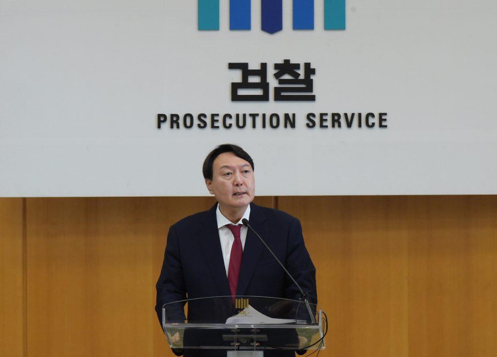 韓國檢察總長尹錫悅 Yoon Seok-youl(圖/spo.go.kr)
