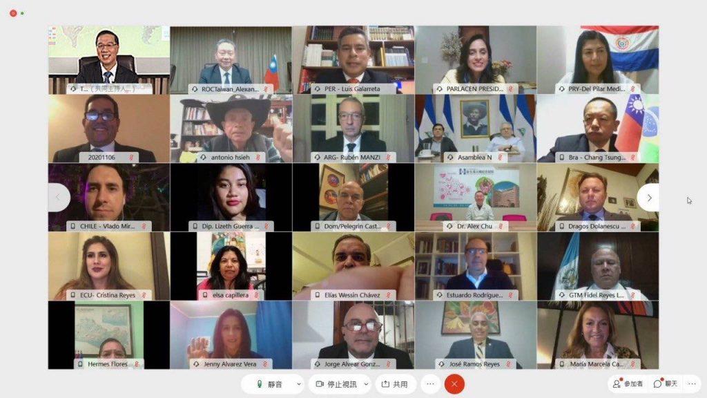 拉丁美洲17國家及中美洲議會共144人出席拉丁美洲「福爾摩沙俱樂部」會員大會挺台參加世界衛生組織