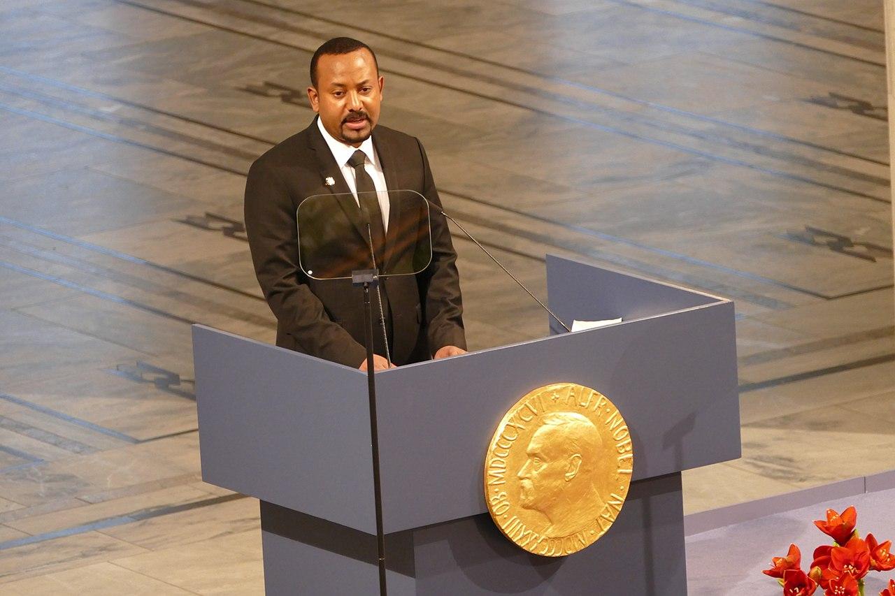 衣索比亞總理阿邁德(Abiy Ahmed)獲諾貝爾和平獎(圖/Bair175/CC BY-SA 4.0)