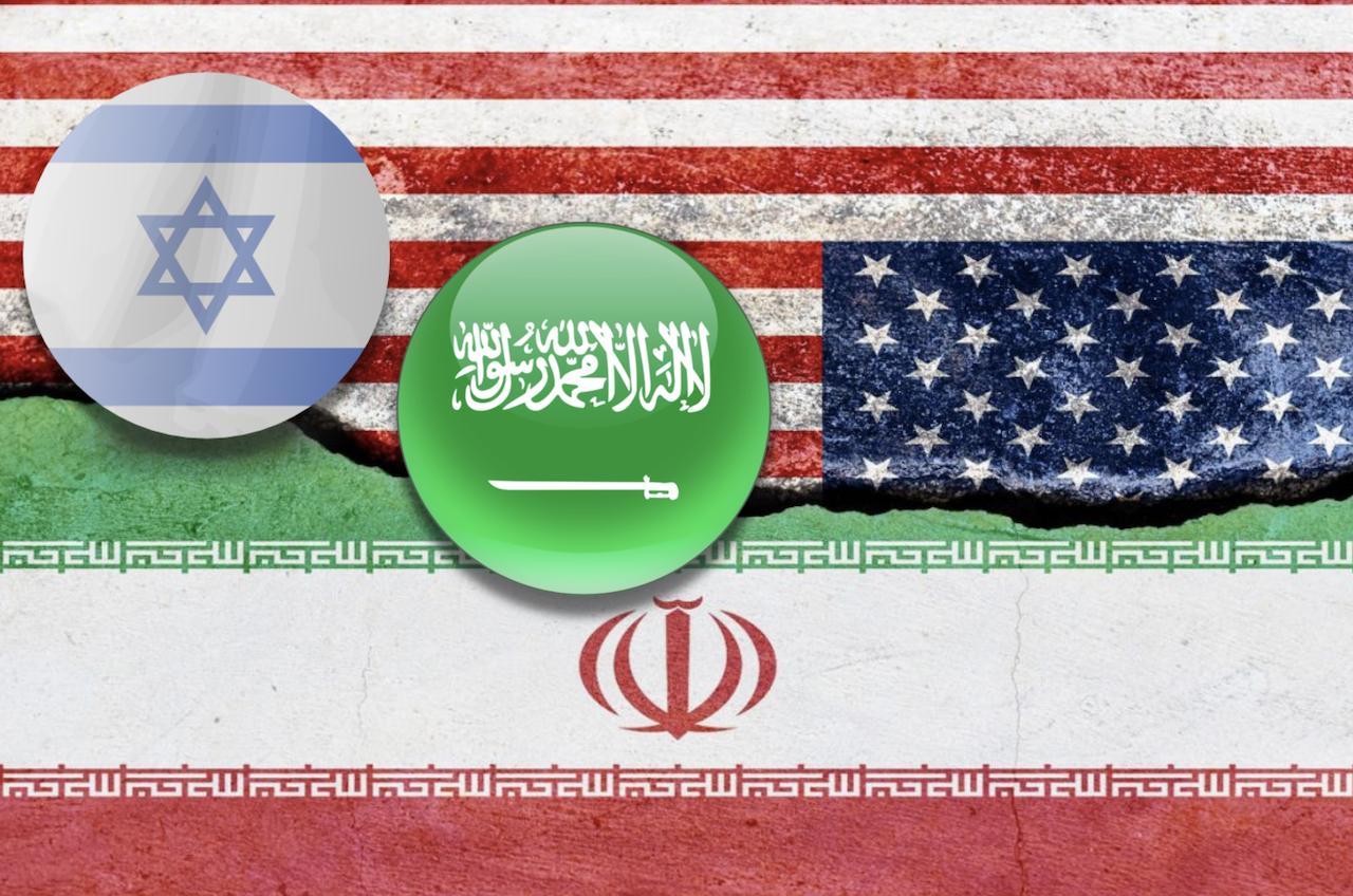 伊朗、美國、沙烏地、以色列