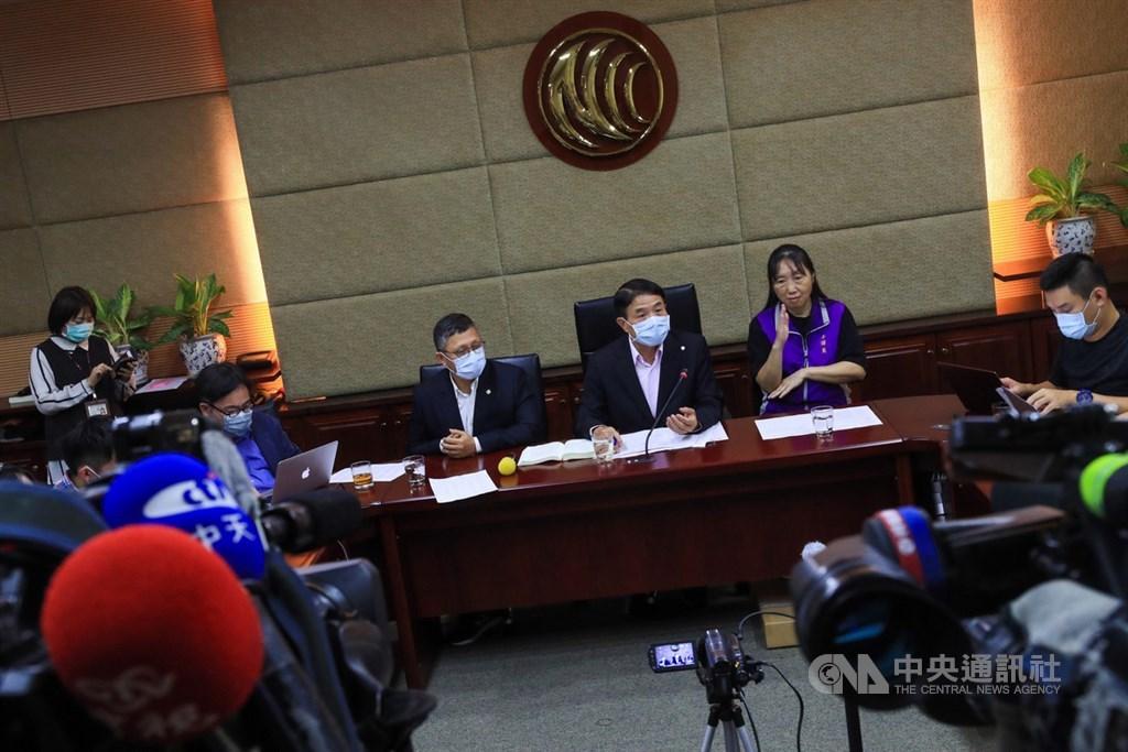 NCC表示,針對中天換照一案不再召開聽證會。