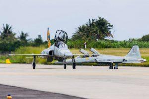 F-5型戰鬥機今日復飛,空軍司令親自同乘盼激勵士氣。