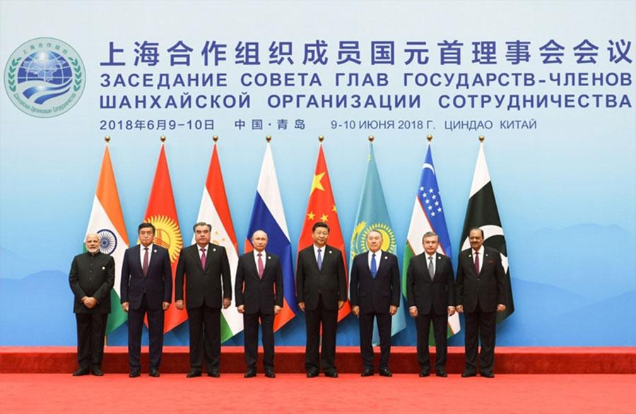 上海合作組織(Shanghai Cooperation Organization, SCO)(圖/人民網)