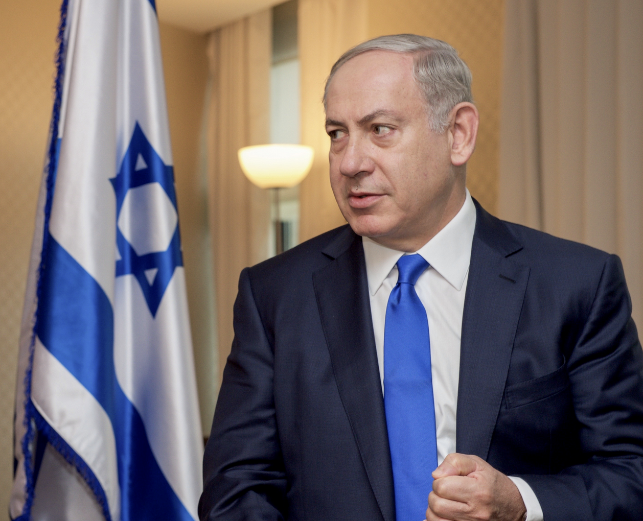 以色列總理尼坦雅胡 Netanyahu(圖/U.S. Department of State/public domain)