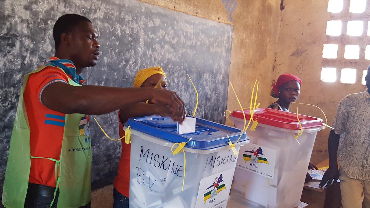 UNDP-CF-VOTE-30-12-15中非共和國(圖/UN)
