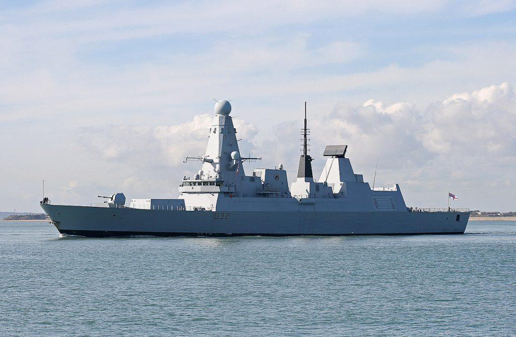 英國海軍 HMS_Daring-1 (圖/Brian Burnell/CC BY-SA 3.0)
