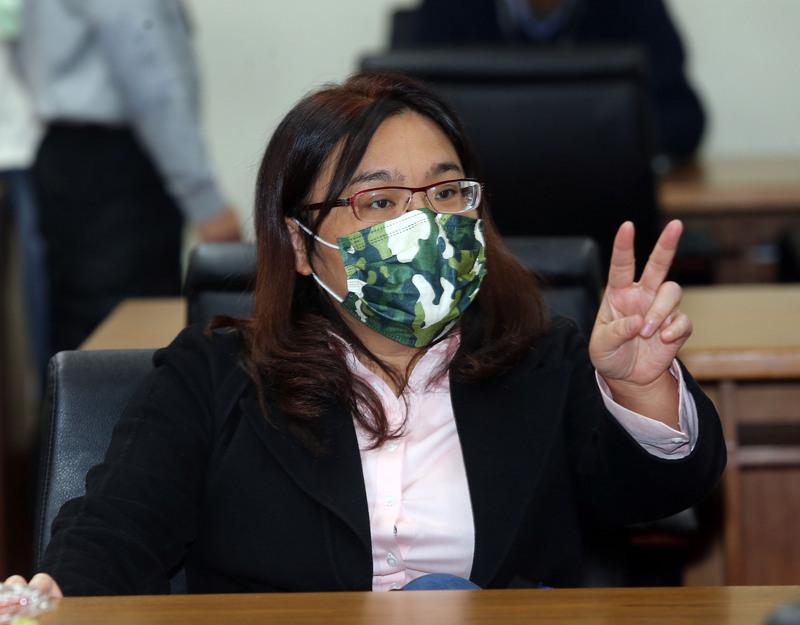 國民黨立院黨團首席副書記長陳玉珍。圖/中央社。
