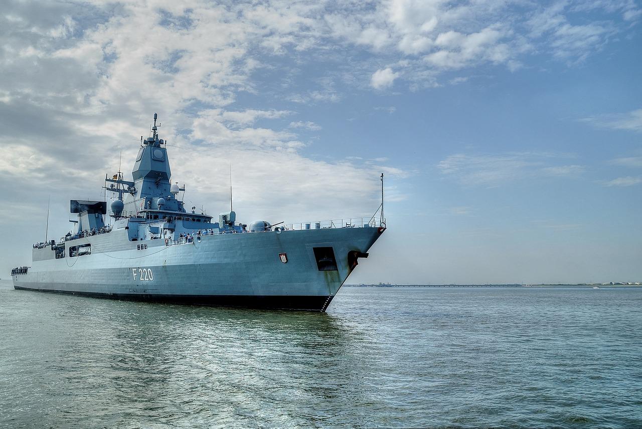 frigate-645170_1280德國護衛艦(圖/pixabay)
