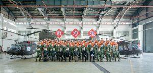01.15 總統視導「陸軍五四工兵群」、「防空暨飛彈指揮部」及「航空特戰指揮部飛行訓練指揮部」。 (Official Photo by Wang Yu Ching / Office of the President)