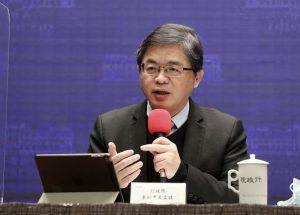 行政院秘書長李孟諺:國台辦的宣布沒有太大意義。圖/中央社。
