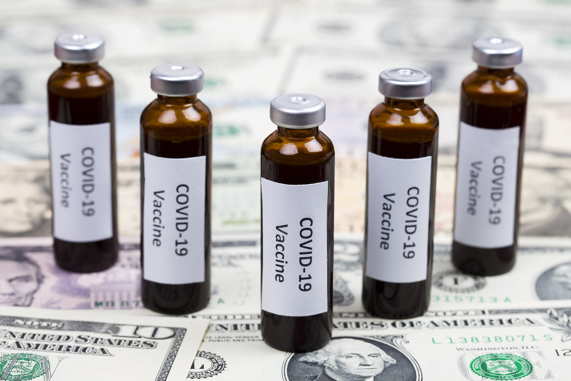 Vaccine against Covid-19 on the background of American Dollars