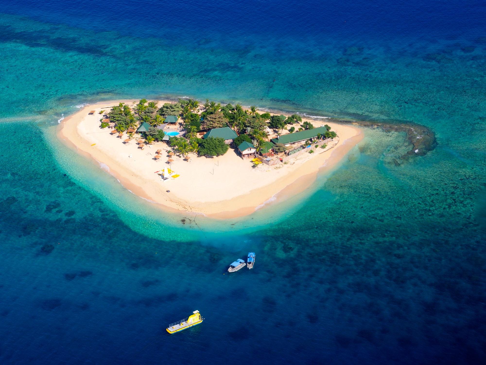 Small island in Fidji