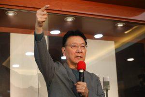 趙少康:若當選總統 會把52台還給中天。圖/中央社。