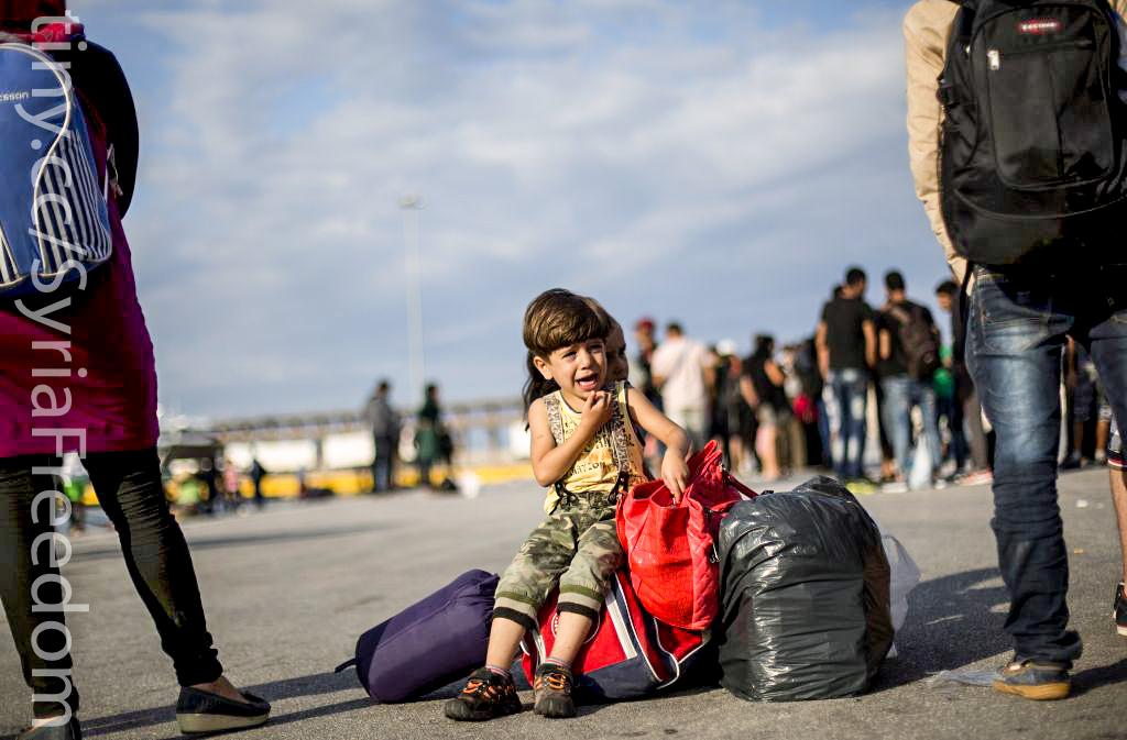 敘利亞難民(圖/Freedom House/公共網域)