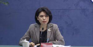 國台辦發言人朱鳳蓮於昨(17)日談到農林22條措施。