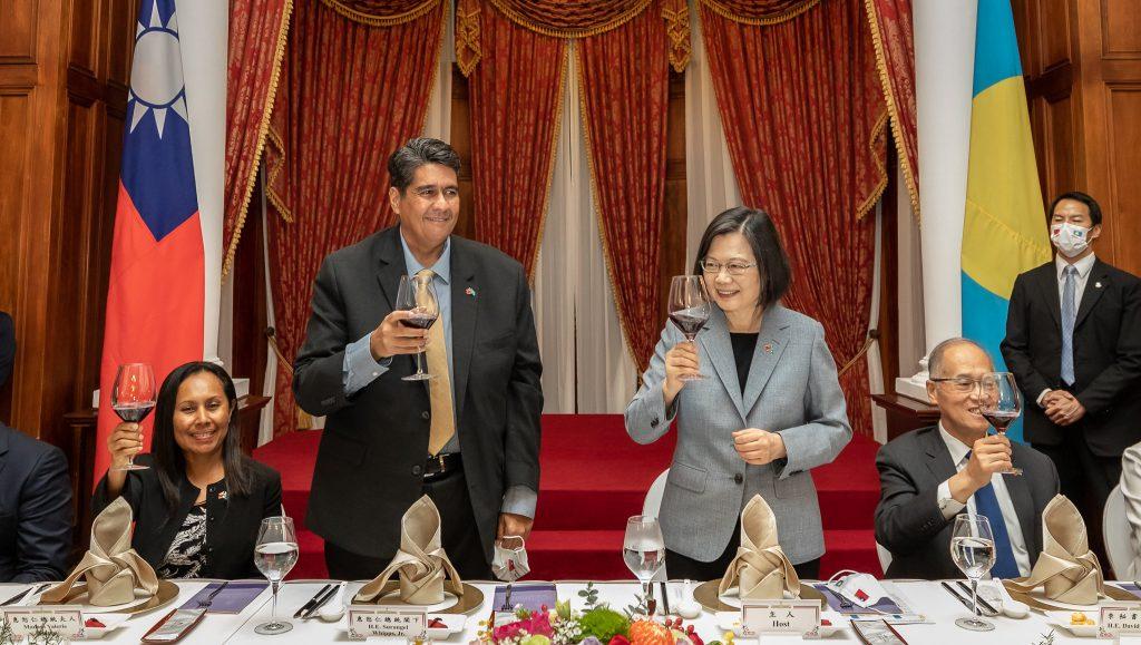 03.30 總統宴請帛琉共和國總統惠恕仁伉儷 Official Pvhoto by Wang Yu Ching / Office of the President