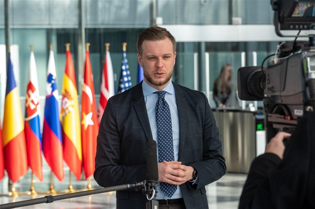 立陶宛政府提案修法,準備派遣商務代表到台灣,朝在台成立代表處的目標邁進。外長藍斯柏吉斯(圖)強調,強化與台灣關係並不違背一個中國政策。(圖取自twitter.com/LithuaniaMFA)