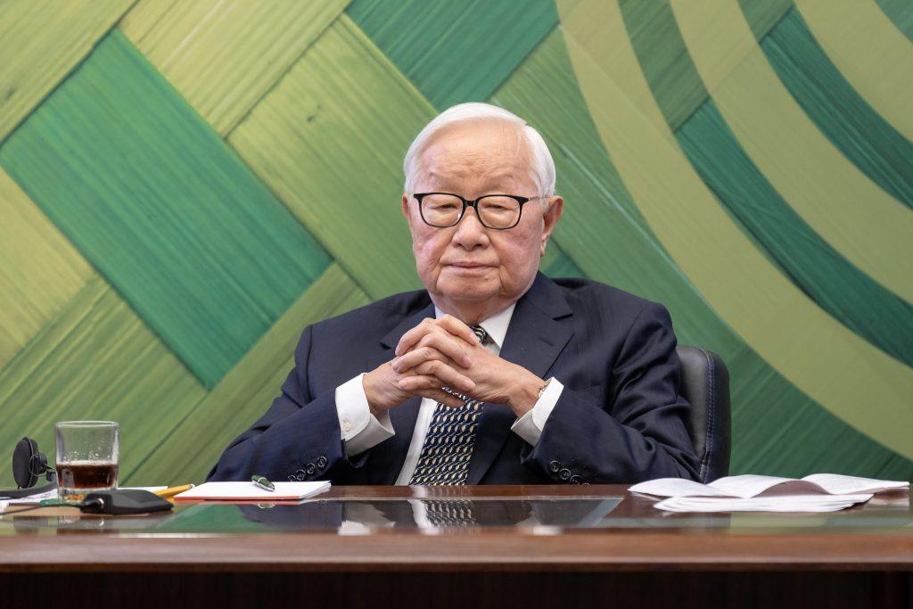 07.16 我國領袖代表台積電創辦人張忠謀以視訊方式參加2021年APEC「非正式領袖閉門會議」