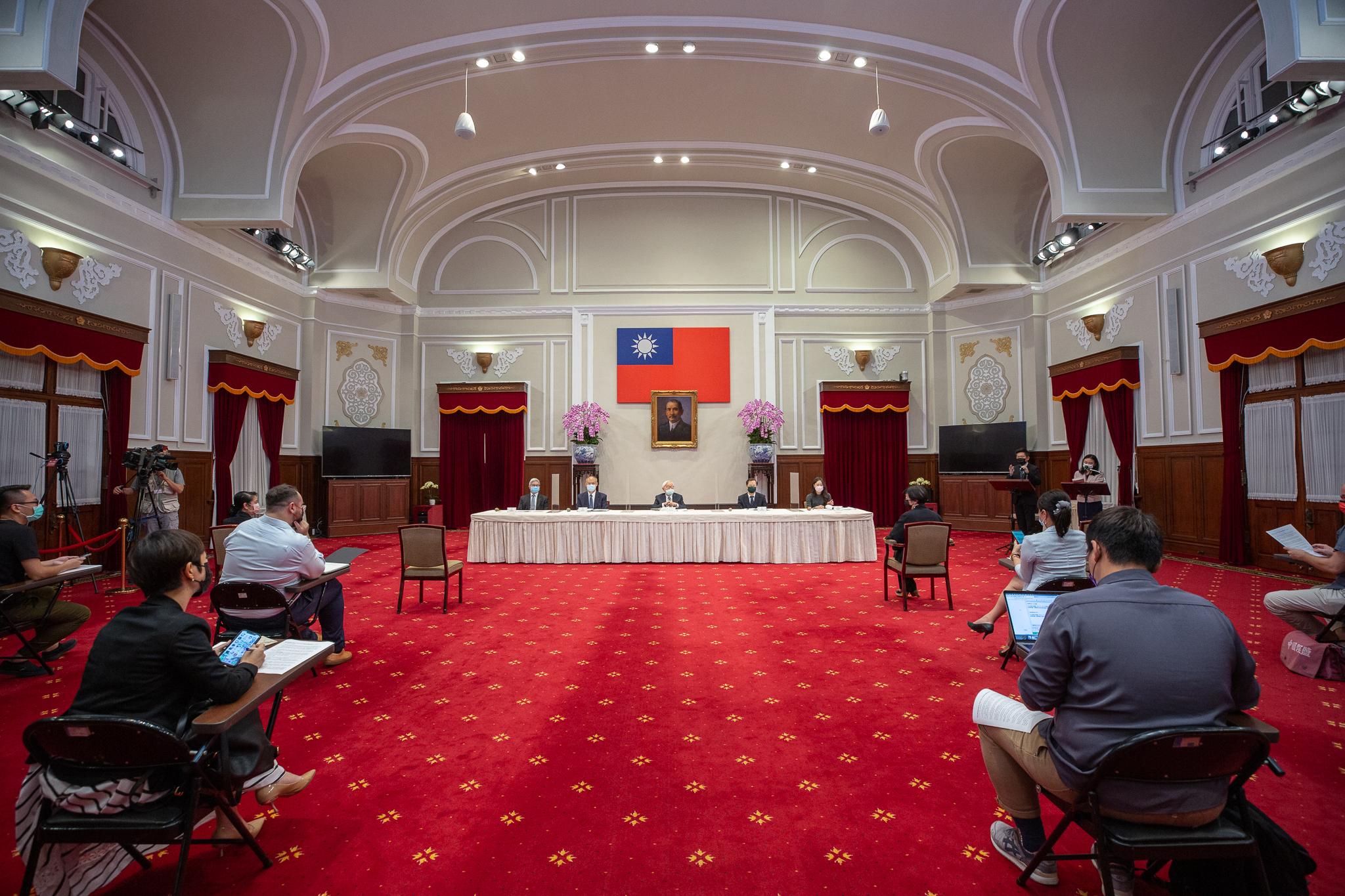 07.16 2021年APEC「非正式領袖閉門會議」會後記者會 Official Photo by Wang Yu Ching / Office of the President