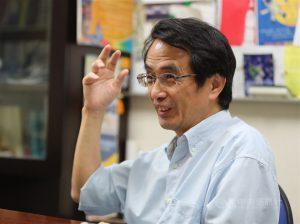有「火箭阿伯」之稱的陽明交通大學機械工程學系特聘教授吳宗信2日接任國家太空中心新任主任。(中央社檔案照片)