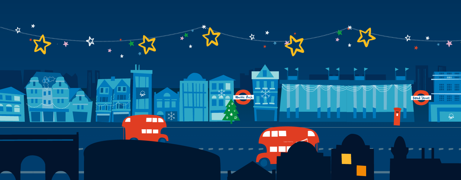 as the official charity partner for this years christmas lights on londons