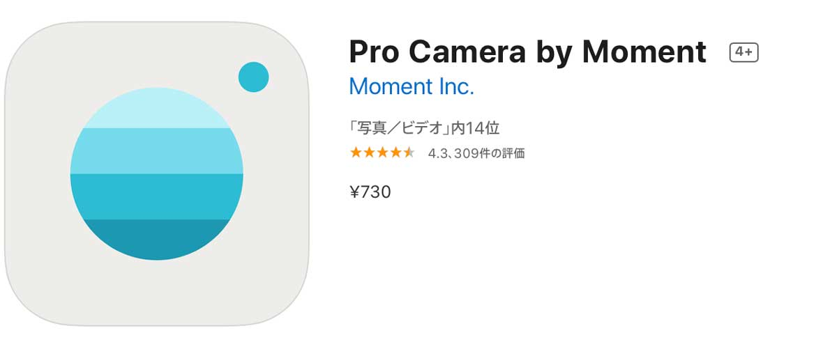 Pro camera by Moment